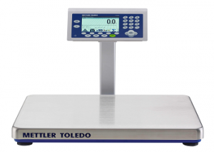 Over under checkweighing scales