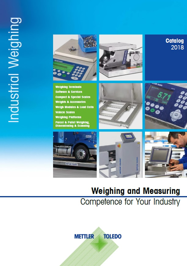 Industrial Scale Products Catalog Mettler Toledo